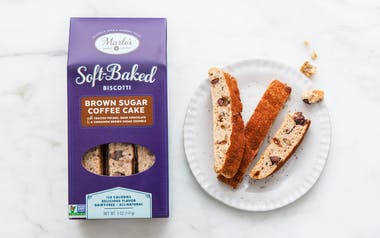 Brown Sugar Coffee Cake Soft-Baked Biscotti