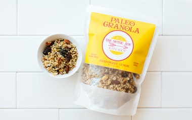 Paleo Granola - Cranberry Lemon