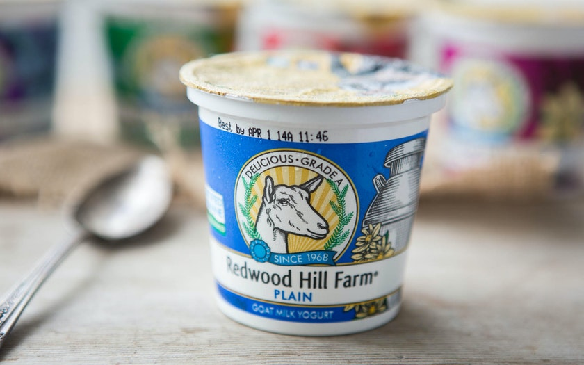 Plain Goat's Milk Yogurt