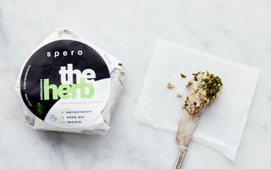 Plant-Based Herb Goat Cheese