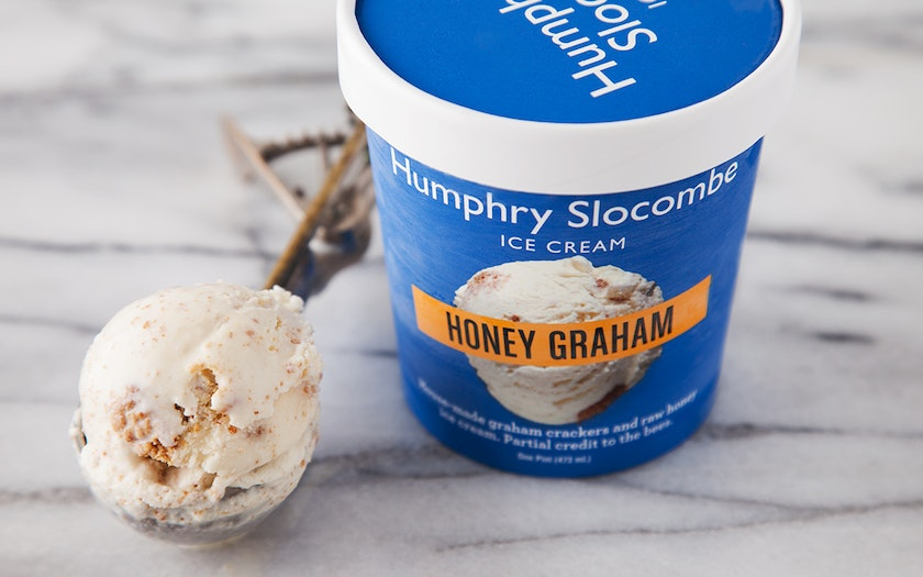 Honey Graham Ice Cream