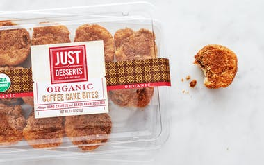 Organic Coffee Cake Bites