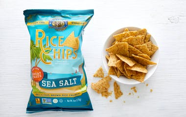 Organic Sea Salt Rice Chips