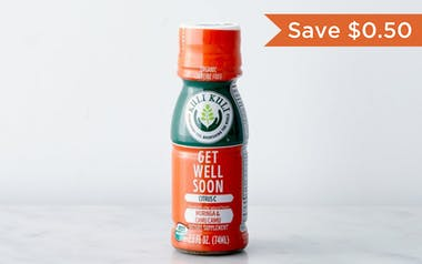 "Organic ""Get Well Soon"" Vitamin C Moringa Shot"