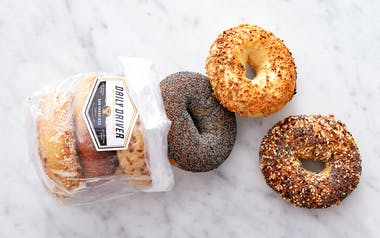 Organic Assorted Wood Fired Bagels