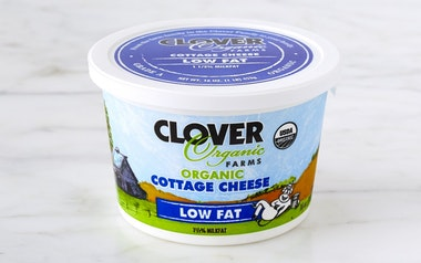 Organic Low Fat Cottage Cheese