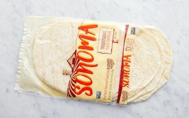 Large Traditional Flour Tortillas