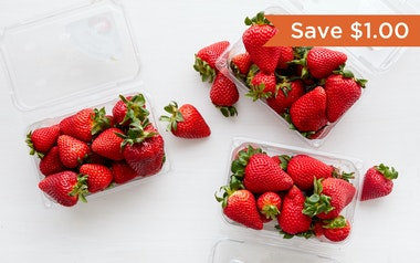 Organic & Fair Trade Strawberries 3-Pack (Mexico)