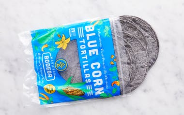 Heirloom Blue Corn Tortillas