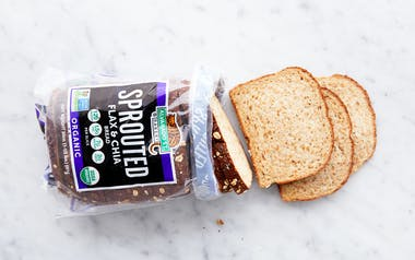 Organic Sprouted Flax & Chia Bread