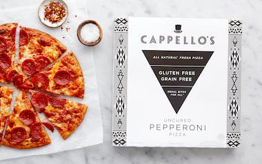Gluten-Free Uncured Pepperoni Pizza