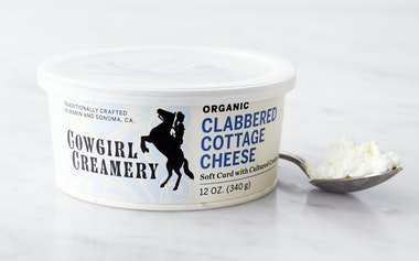 Organic Clabbered Cottage Cheese
