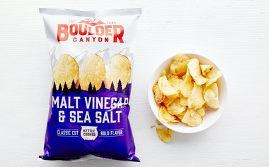 Malt Vinegar & Sea Salt Kettle Potato Chips