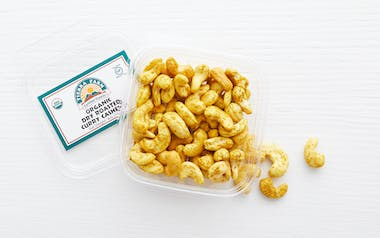 Organic Dry Roasted Curry Cashews