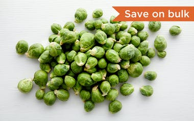 Bulk Organic Brussels Sprouts