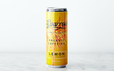 Caffeinated Sparkling Lemon Water