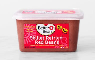 Skillet Refried Red Beans
