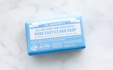 Organic Baby Mild Unscented Bar Soap