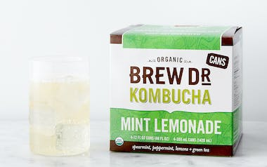 Organic Mint Lemonade Green Tea Kombucha