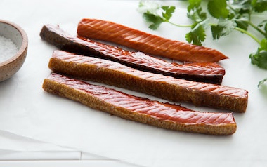 Wild Alaskan Smoked King Salmon (Frozen)