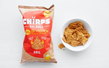 BBQ Tortilla-Style Cricket Chips