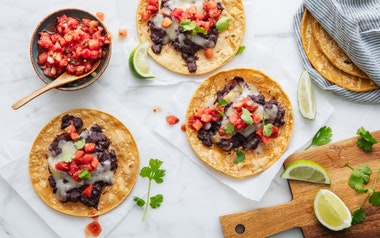 Simple Black Bean Street Taco Kit