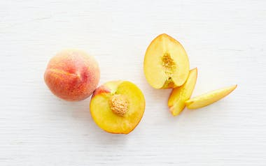 Organic Large Sun Crest Yellow Peach Duo
