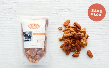 Gluten-Free Orange Spiced Nuts
