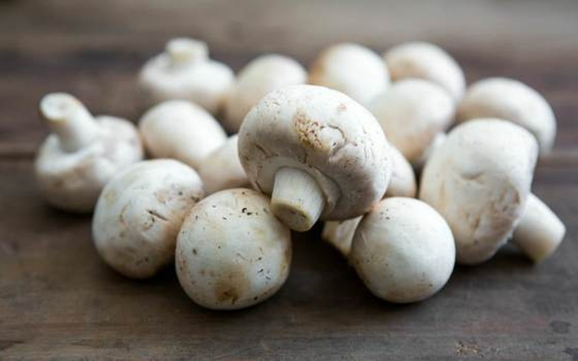 Organic White Button Mushrooms