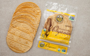 Organic Yellow Corn Tortillas