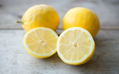 Organic Small Lemon