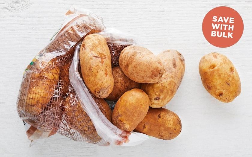 Bulk Organic Russet Potatoes