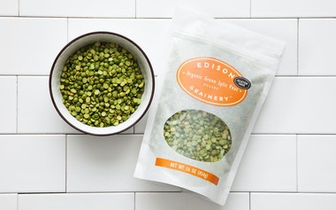 Organic Green Split Peas