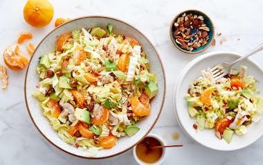 Sesame Chicken Salad with Satsumas
