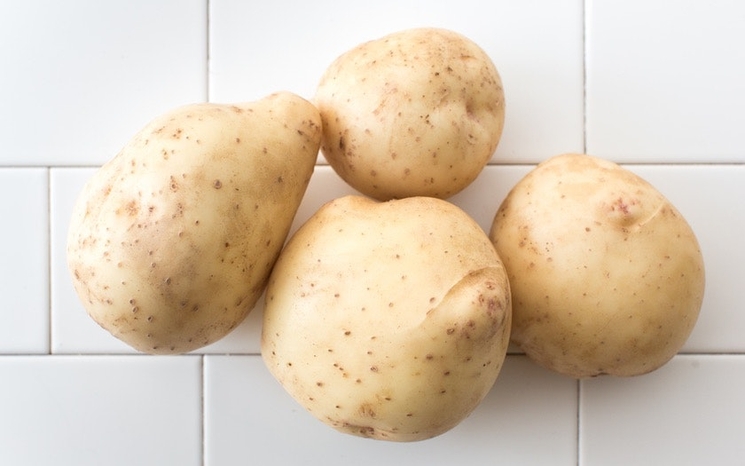 Organic Large Yellow Potatoes