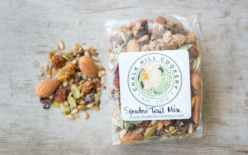 Sprouted Trail Mix