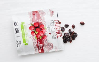 Organic Sweetened Whole & Juicy Dried Cranberries
