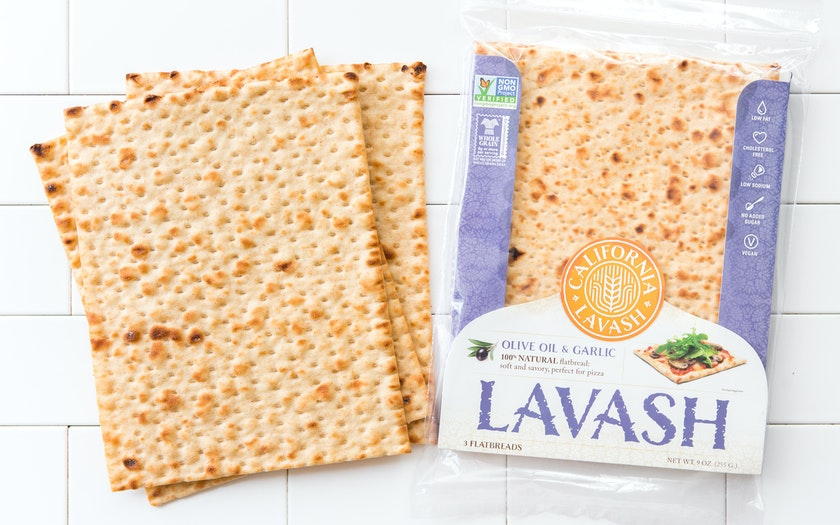 Garlic & Olive Oil Lavash