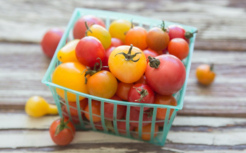 Organic Mixed Medley Cherry Tomatoes