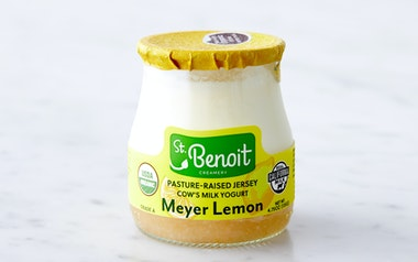 Organic French-Style Meyer Lemon Yogurt