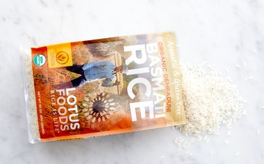 Organic White Heirloom Basmati Rice