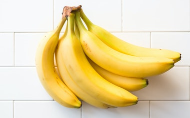 Six Organic Bananas