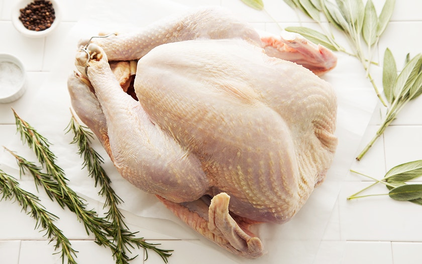 Broad-Breasted Turkey (10-12 lb, Frozen)