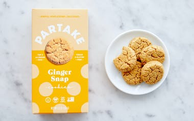 Vegan & Gluten-Free Gingersnap Sweet Potato Millet Cookies