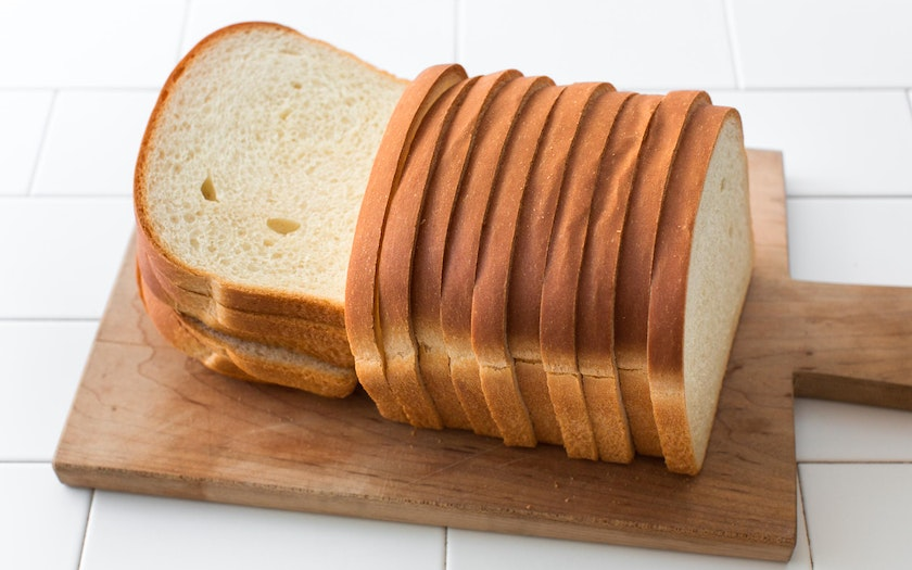 Sliced Pain De Mie