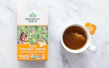 Organic Tulsi Turmeric Ginger Tea