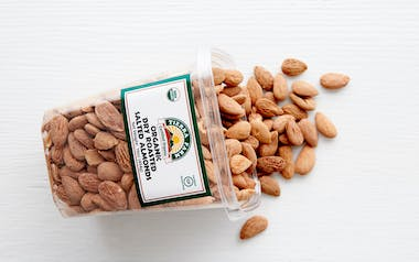 Organic Dry-Roasted Salted Almonds