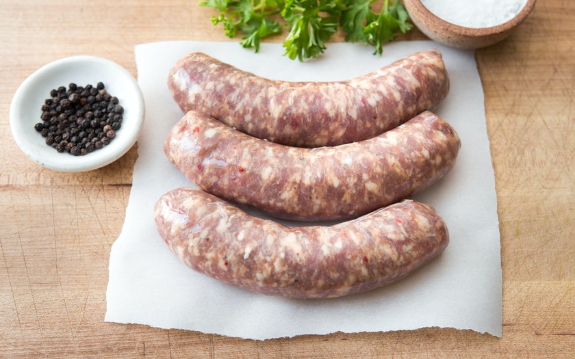 Pasture Raised Garlic Ginger Pork Sausage (Frozen)