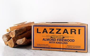Almond Firewood with Kindling