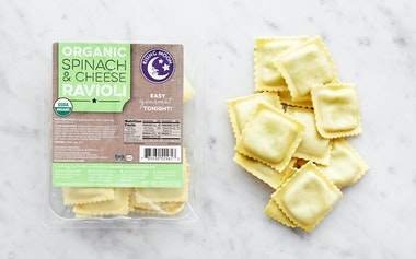 Organic Spinach & Cheese Ravioli